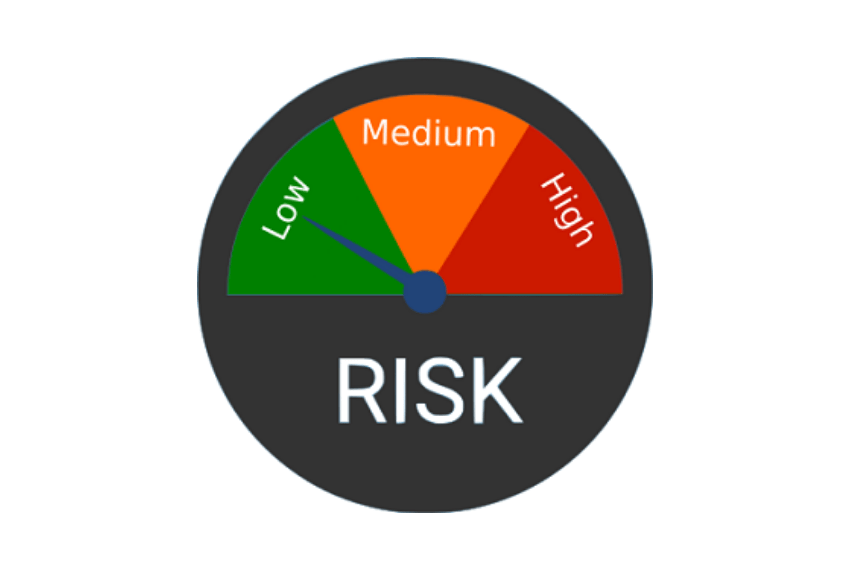 Risk Assessment - low, medium and high risk